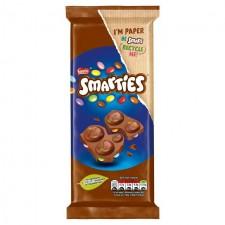 Retail Pack Nestle Smarties Chocolate Sharing Block 14 x 90g