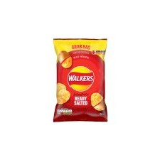 Retail Pack Walkers Grab Bag Ready Salted Crisps 32 x 45g Pack Box