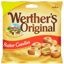 Retail Pack Werthers Original Traditional Butter Candies 12 x 110g