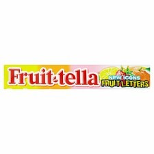 Retail Size Fruit-Tella Assorted Chewy Sweets Strawberry Orange Lemon 40 x 42g