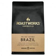 Roastworks Brazil Ground Coffee 200g
