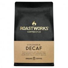 Roastworks Decaf Colombia Ground Coffee 200g