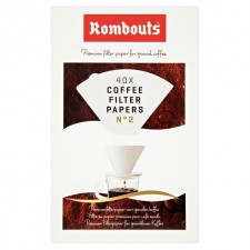 Rombouts Coffee Filter Papers 2 Cups 40