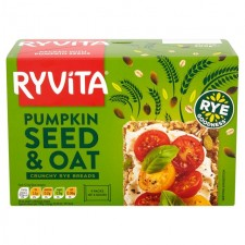 Ryvita Crispbread Pumpkin and Oat 200g