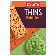 Ryvita Thins Multiseed 125g