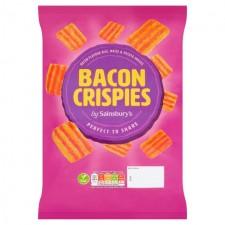 Sainsburys Bacon Crispies 140g