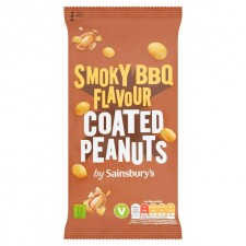 Sainsburys BBQ Coated Peanuts 200g