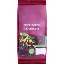 Sainsburys Black Beans 500g