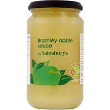 Sainsburys Bramley Apple Sauce 420g