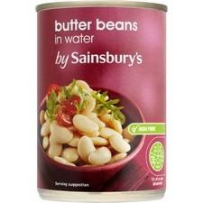 Sainsburys Butter Beans 400g