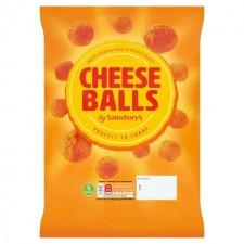 Sainsburys Cheese Balls 140g
