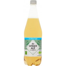 Sainsburys Diet Dry Ginger Ale 1L Bottle