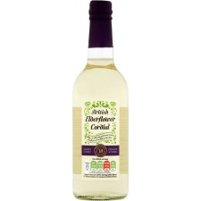 Sainsburys English Elderflower Cordial Taste the Difference 500ml