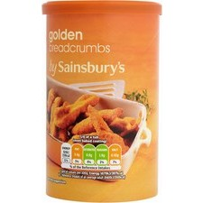 Sainsburys Golden Breadcrumbs 230g