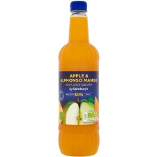 Sainsburys High Juice Apple and Mango 1L