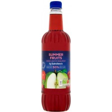 Sainsburys High Juice Summer Fruits Drink 1L