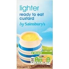 Sainsburys Lighter Custard 500g
