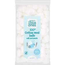 Sainsburys Little Ones Large Cotton Wool Balls x 100