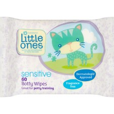 Sainsburys Little Ones Toddler Botty 60 Fragrance Free Toilet Wipes