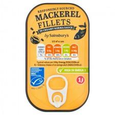 Sainsburys Mackerel Creamy Korma 125g