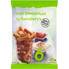 Sainsburys Mini Breadsticks 120g