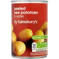 Sainsburys New Potatoes In Water 300g