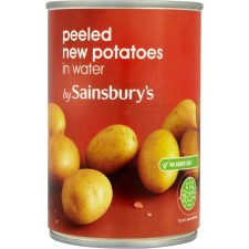 Sainsburys New Potatoes in Water 560g