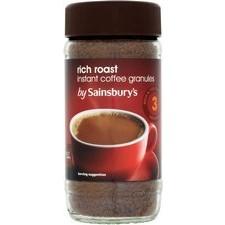 Sainsburys Rich Roast Instant Coffee 100g