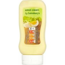 Sainsburys Salad Cream 420g squeezy