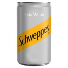 Schweppes Soda Water 150ml Can