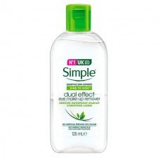 Simple Kind To Skin Dual Effect Eye Make Up Remover 125ml