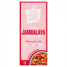 Simply Cook Cajun Jambalaya Recipe Kit 60G