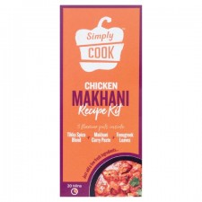 Simply Cook Chicken Makhani Recipe Kit 41G