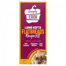 Simply Cook Lamb Kofta Flatbread Recipe Kit 65g