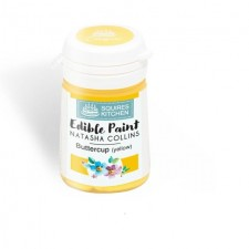 Squires Kitchen Edible Paint by Natasha Collins Buttercup 20g