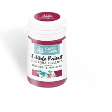 Squires Kitchen Edible Paint by Natasha Collins Raspberry 20g