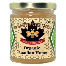 St Lawrence Gold Pure Organic Canadian Honey 330g