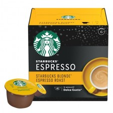 Starbucks Blonde Espresso Roast By Nescafe Dolce Gusto Pods 12 per pack