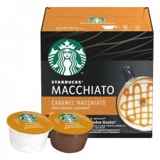 Starbucks Caramel Macchiato By Nescafe Dolce Gusto Pods 12 per pack