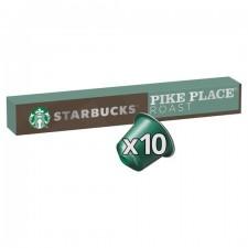 Starbucks Pike Place 10 Nespresso Pods