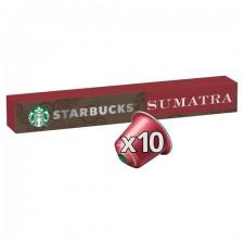 Starbucks Sumatra 10 Nespresso Pods