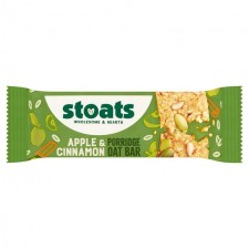 Stoats Apple And Cinnamon Porridge Bar 50g