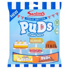Swizzels Great British Puds Chew Bars 150G