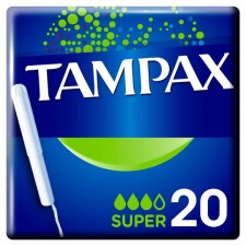 Tampax Tampons with Applicator Super 20