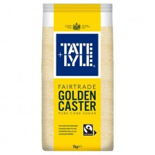 Tate and Lyle Fairtrade Golden Caster 1kg