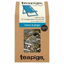 Teapigs Lemon and Ginger 50 Teabags