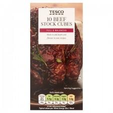Tesco 10 Beef Stock Cubes 100g