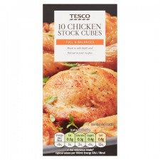 Tesco 10 Chicken Stock Cubes 100g