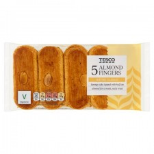 Tesco Almond Fingers 5 pack