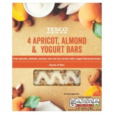 Tesco Apricot Almond And Yoghurt Bars 4 Bars